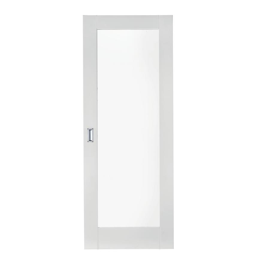 Howdens Pattern 10 White Primed Glazed Door