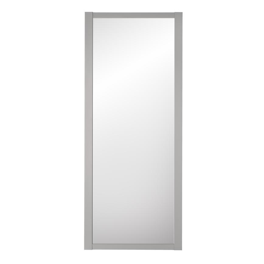 Howdens Dove Grey Frame Mirror Shaker Sliding Wardrobe Door