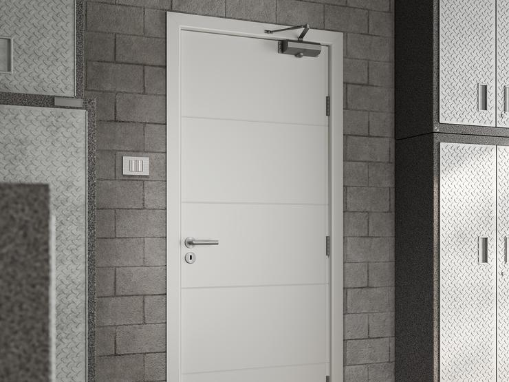 Fire Door DFM2240_06 closed 5k Metro Smooth