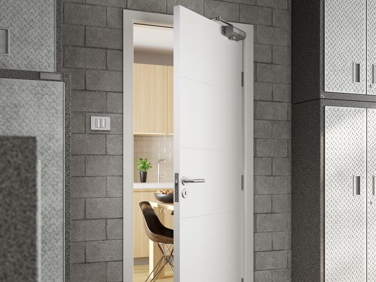 Fire Door DFM2240_06 open 5k Metro Smooth