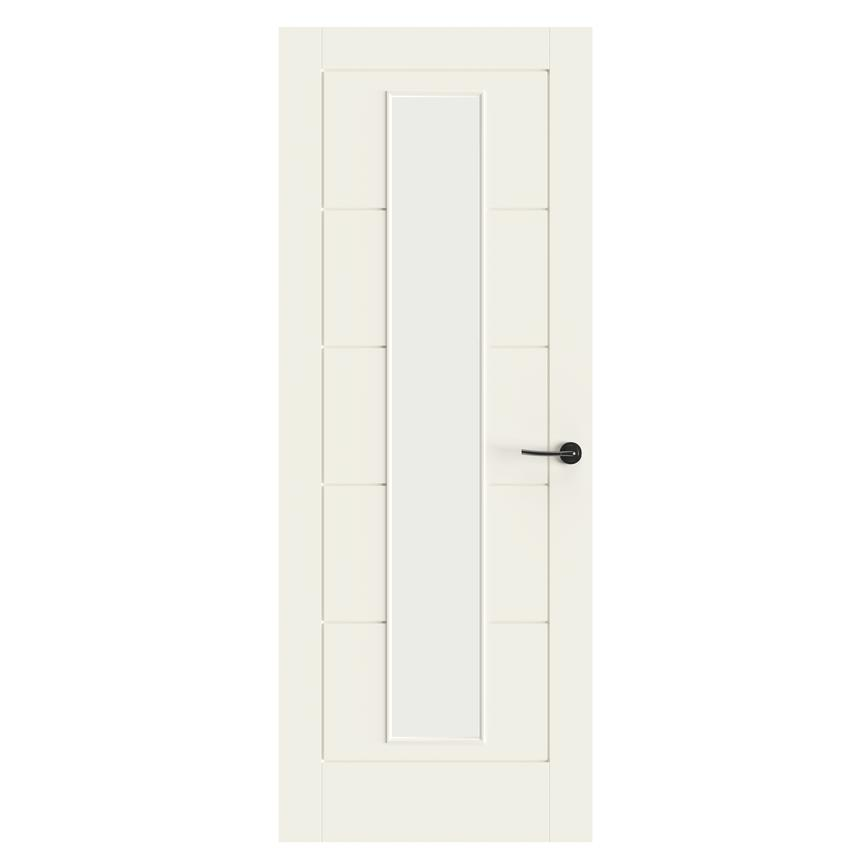 Howdens Linear Smooth Moulded Glazed Door