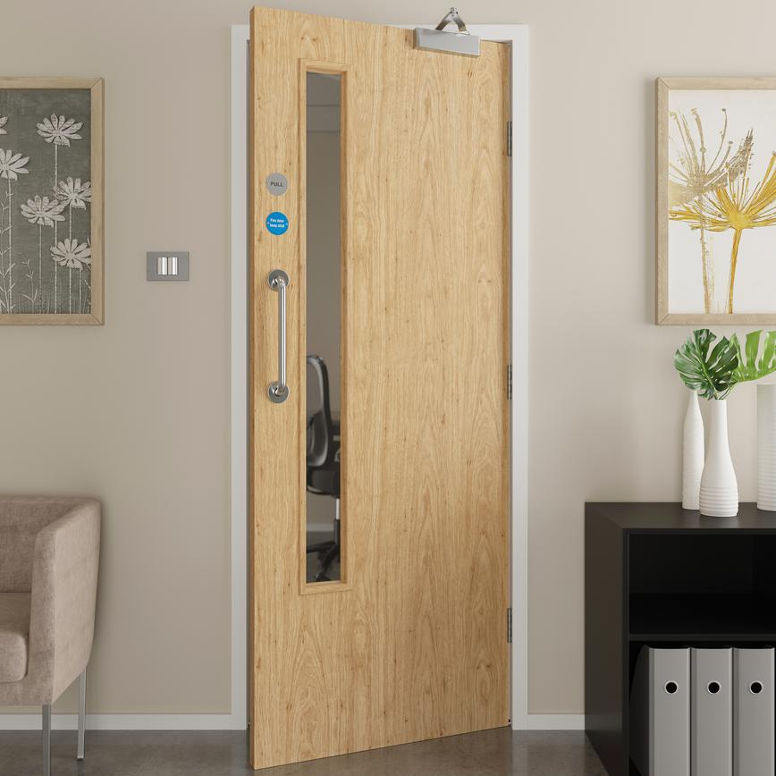 Fire Door 20G DFL2140_06 open 5k