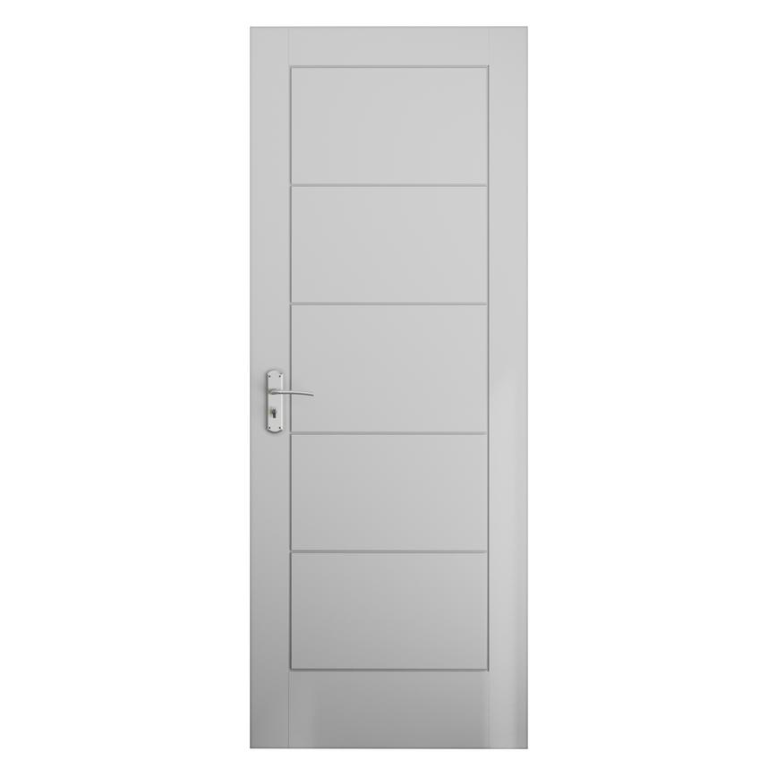 "Pre-finished Linear Smooth 2'6"" Internal Moulded Door"