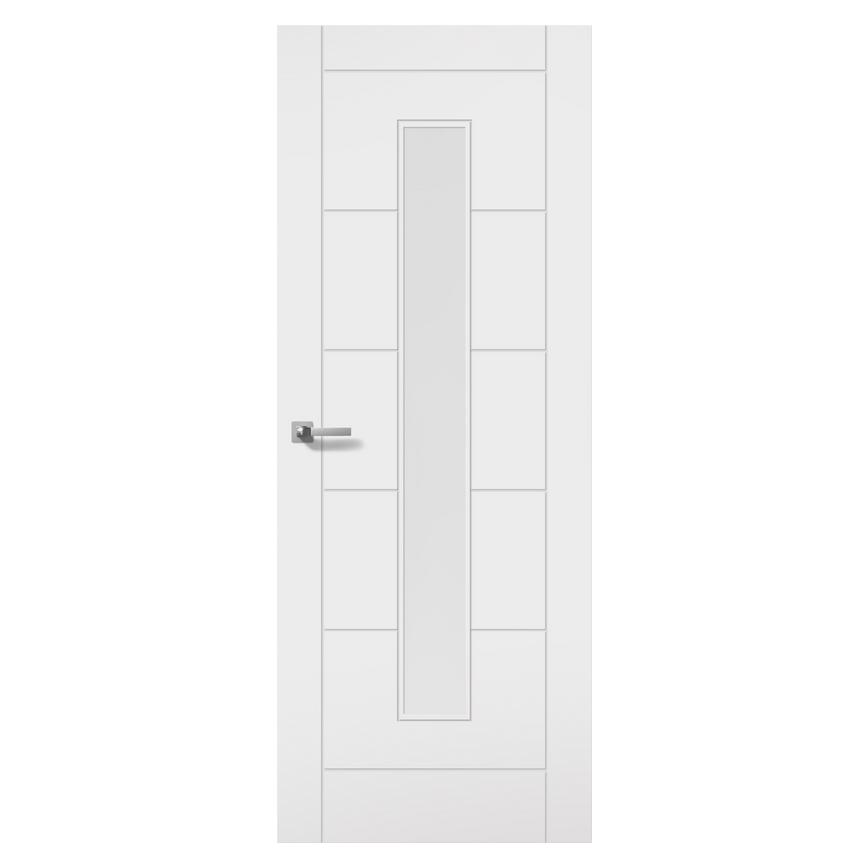 Internal Primed Linear Glazed Door