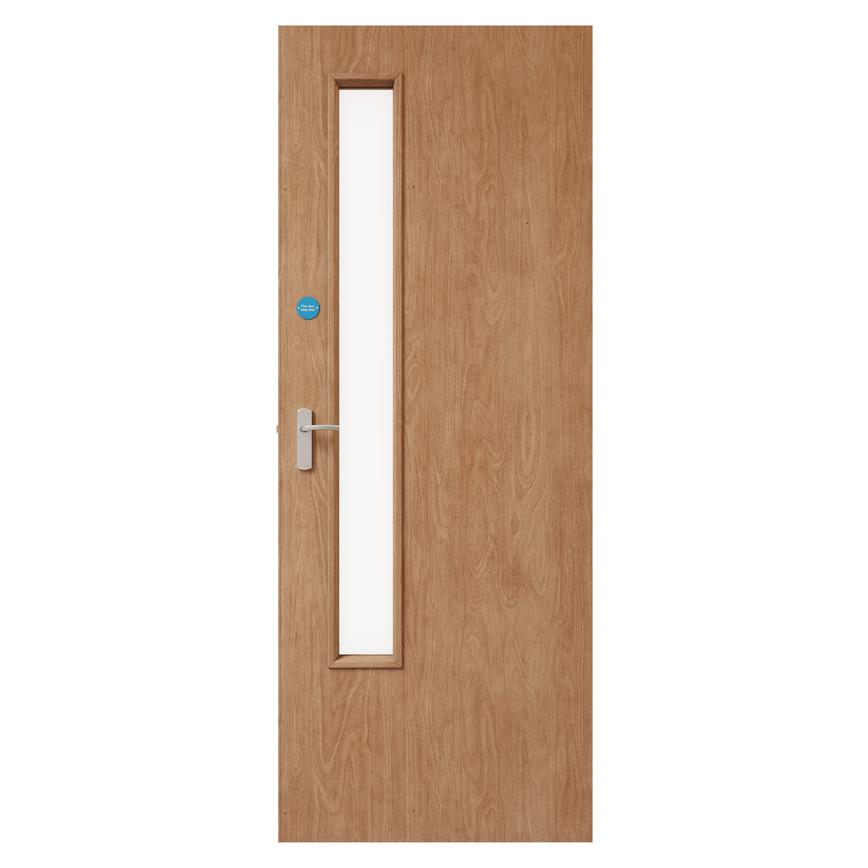 Spey Ply Flush 20G Clear Glazed FD30 door