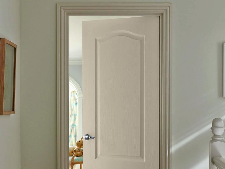 arched top grained door - Bedroom Door