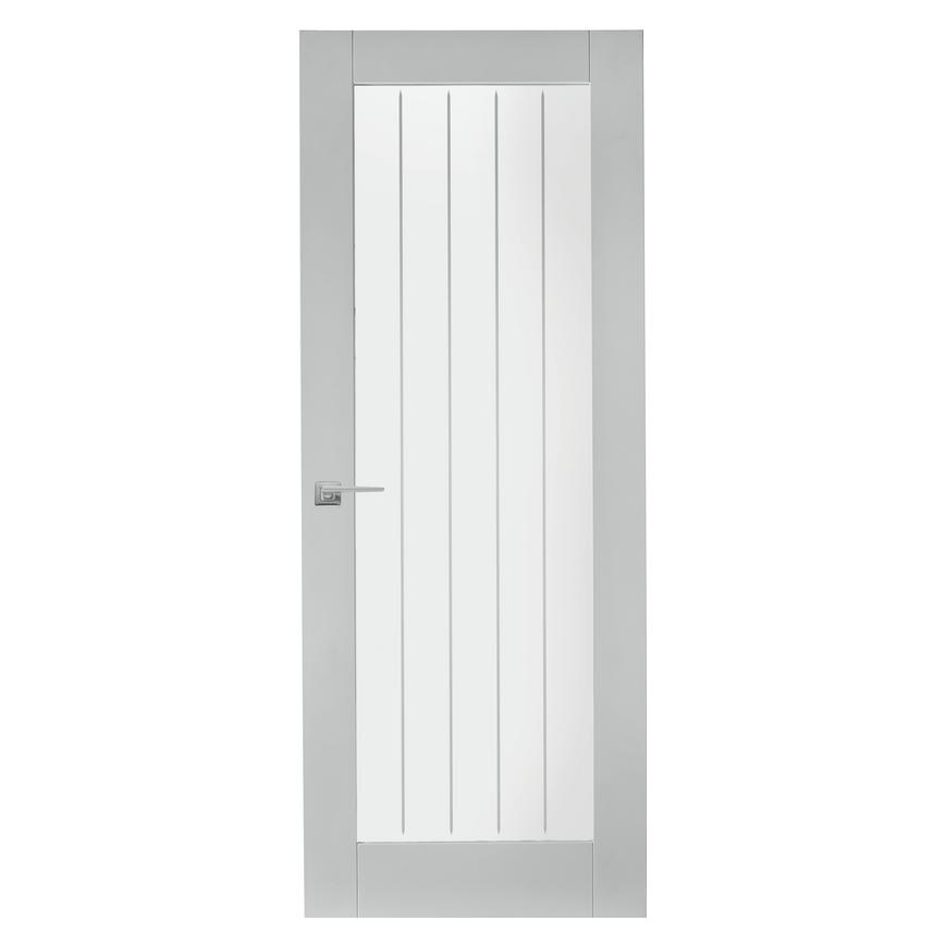 Howdens Dordogne Smooth Moulded Glazed Door