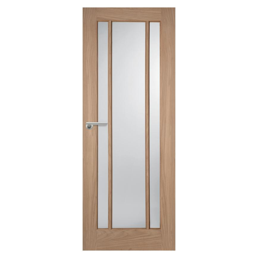 Howdens Worcester Oak Glazed Door