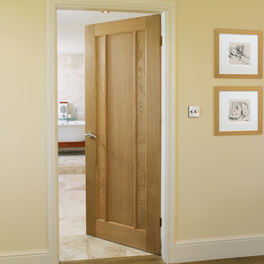 worcester internal oak fire door fd30 howdens. Black Bedroom Furniture Sets. Home Design Ideas