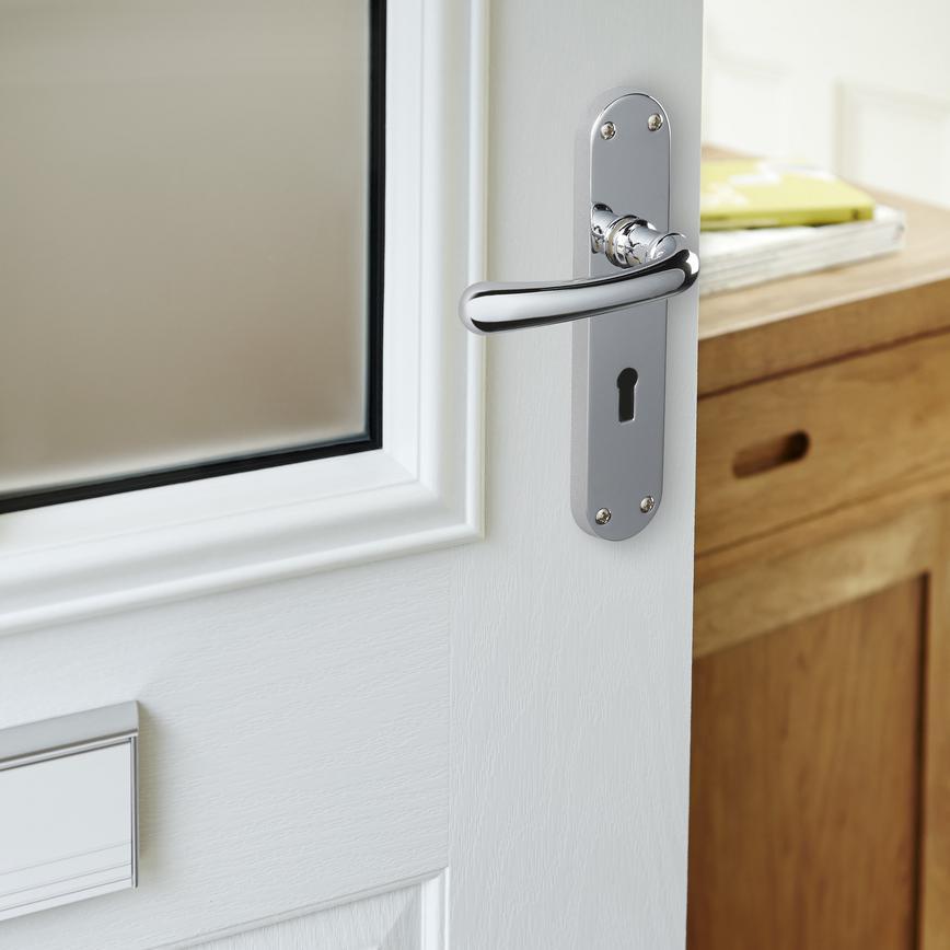Dfu0603 Idro Lock Door Handle Howdens Joinery
