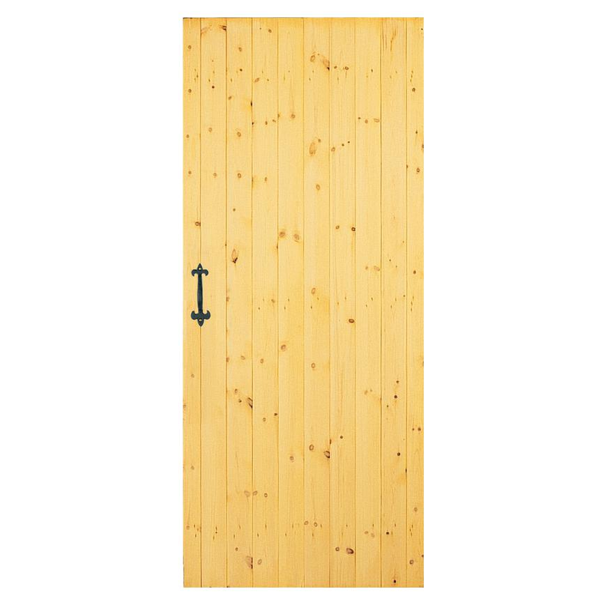 Howdens Ledged and Braced External Softwood Door