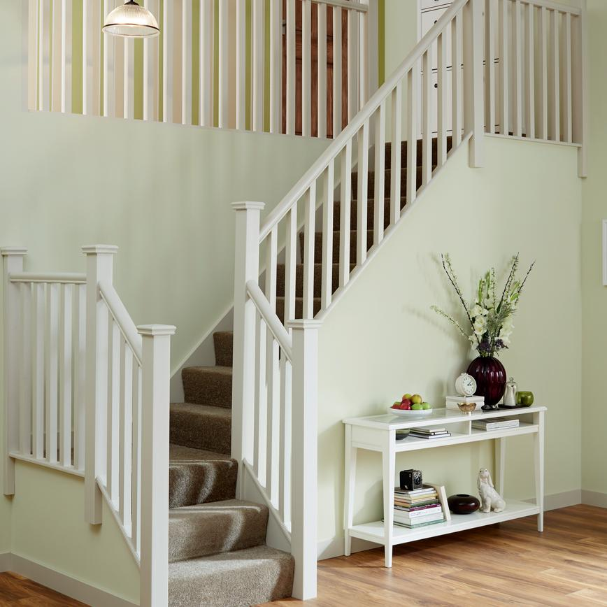 Square Newel Posts & Spindles