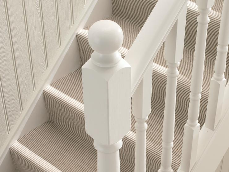 Newel Post with Newel Cap (Ball)