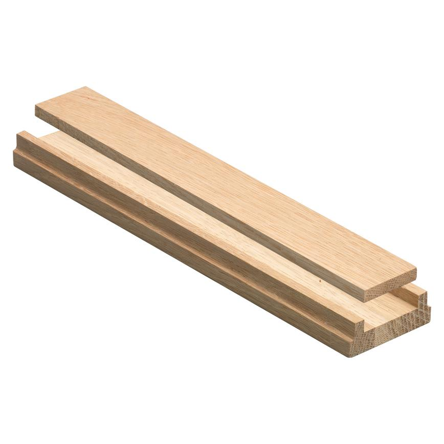 Howdens Engineered Oak 3.9m Stair Base Rail