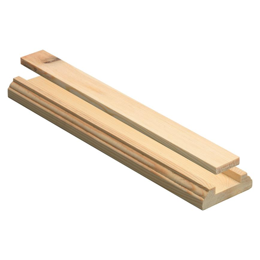 Howdens Solid Softwood Stair Base Rail
