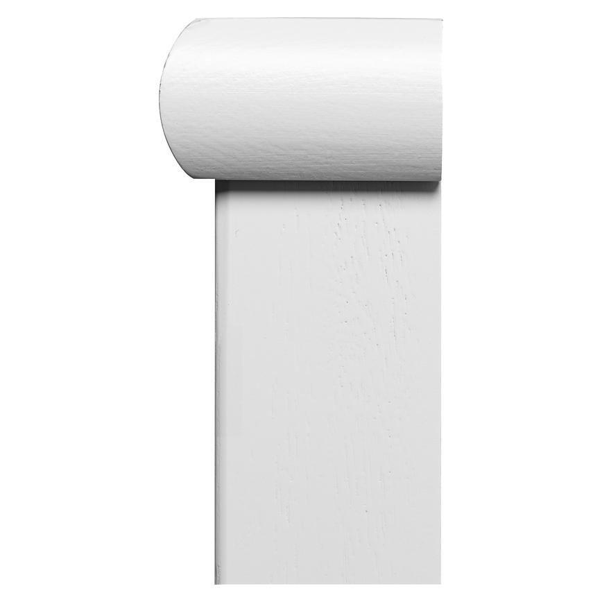 Howdens Softwood Primed Half Square Newel Cap