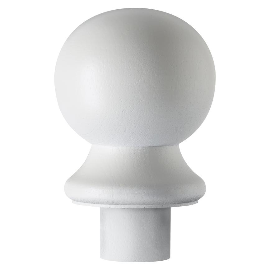 Howdens Softwood Primed Ball Newel Cap