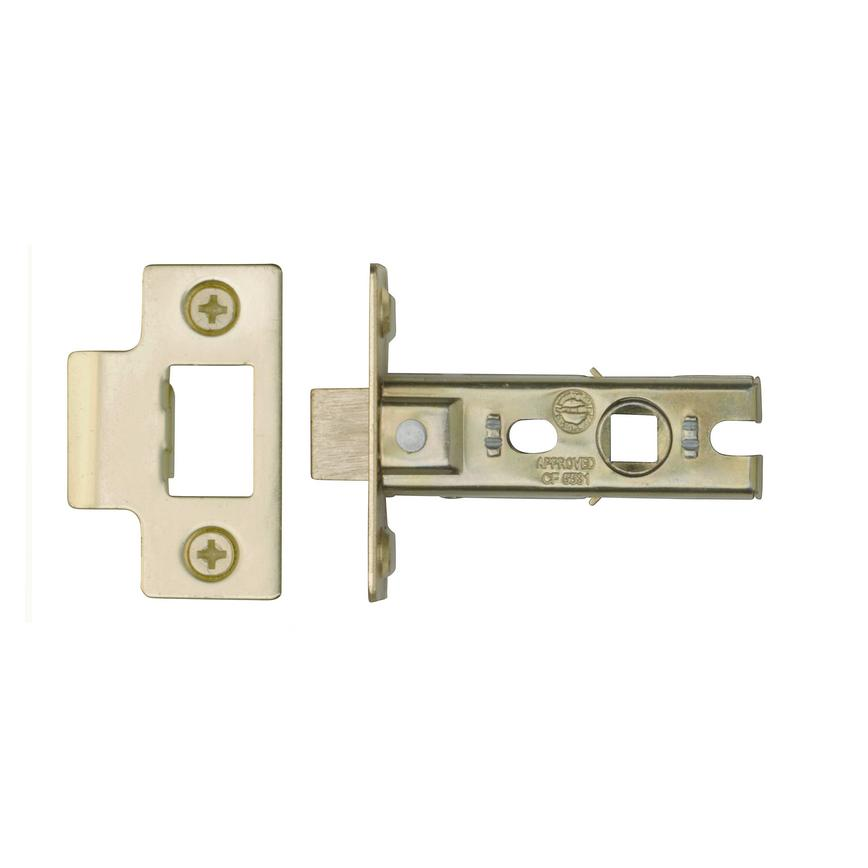 Eclipse 63mm Bolt Through Tubular Latch - Electro-Brass