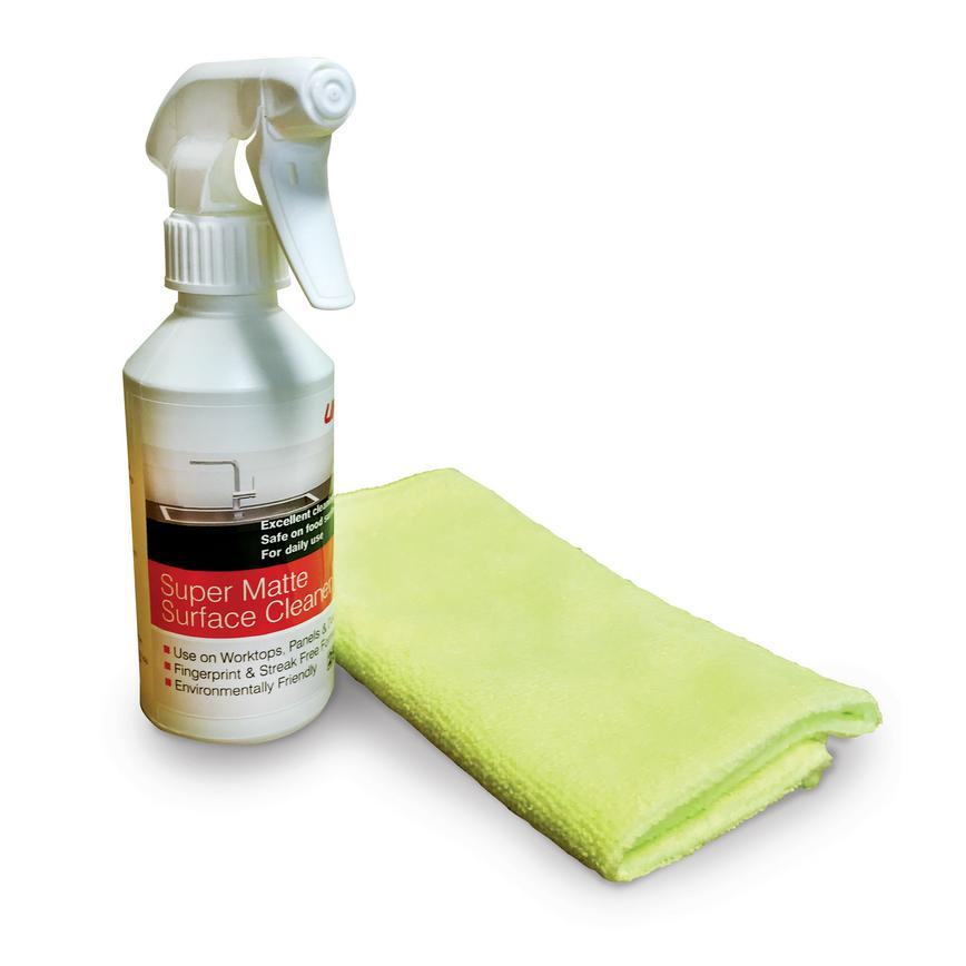 Unika Super Matte Surface Cleaner and Cloth