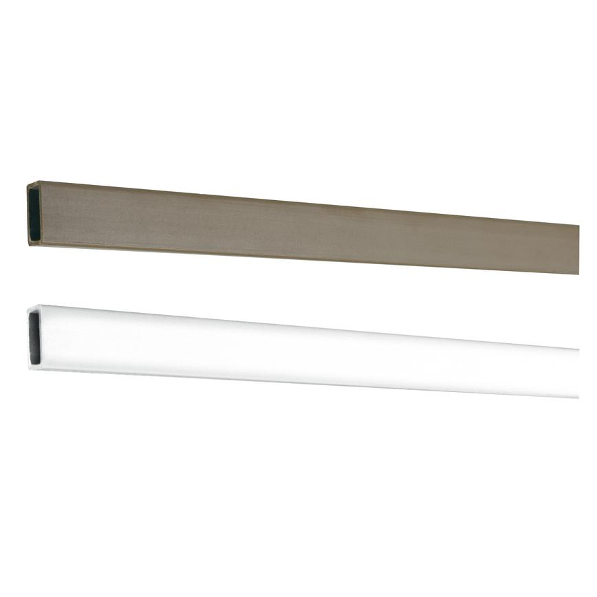 Brown 2.1m Rubber Seal Plastic Fire Door Intumescent Strips