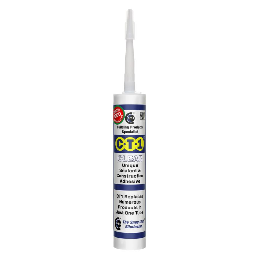 CTI1 Clear sealant and construction adhesive 290ml