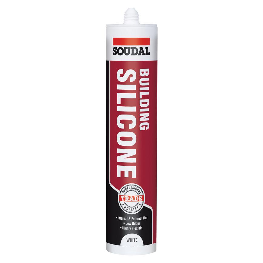 soudal Trade range building silicone white