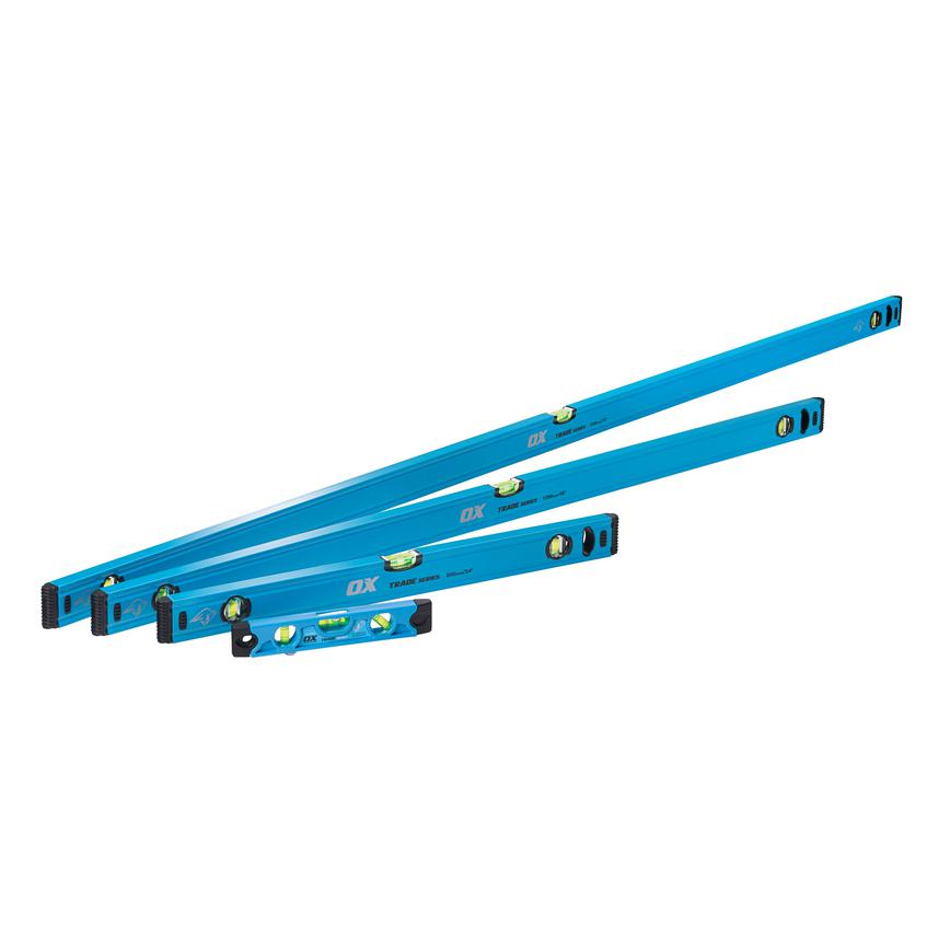 Ox Trade 4 pcs Spirit level set