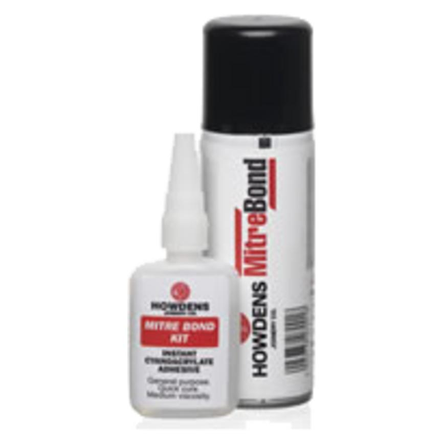 Mitre Bond MBAERO 200ml Aerosol and Activator Adhesive
