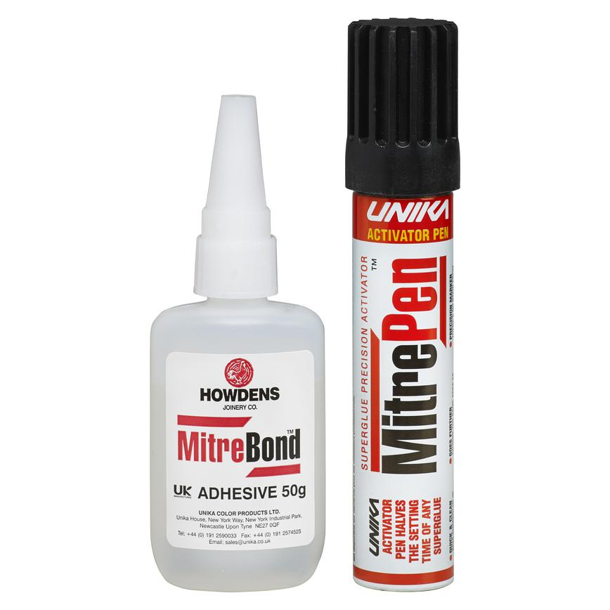 Mitre Pen Pack with 1 Adhesive