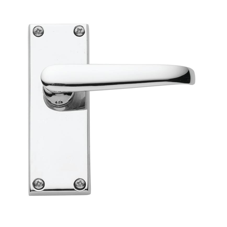 Victorian Budget Chrome Latch Handle