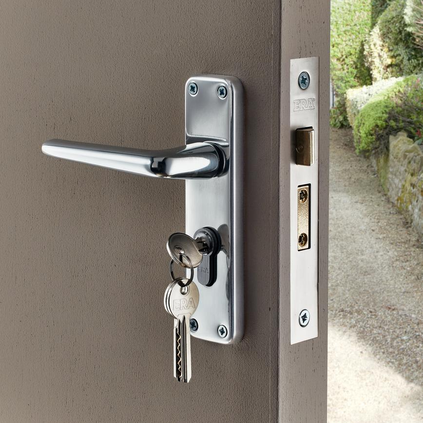 Edinburgh Chrome Effect Euro Lock