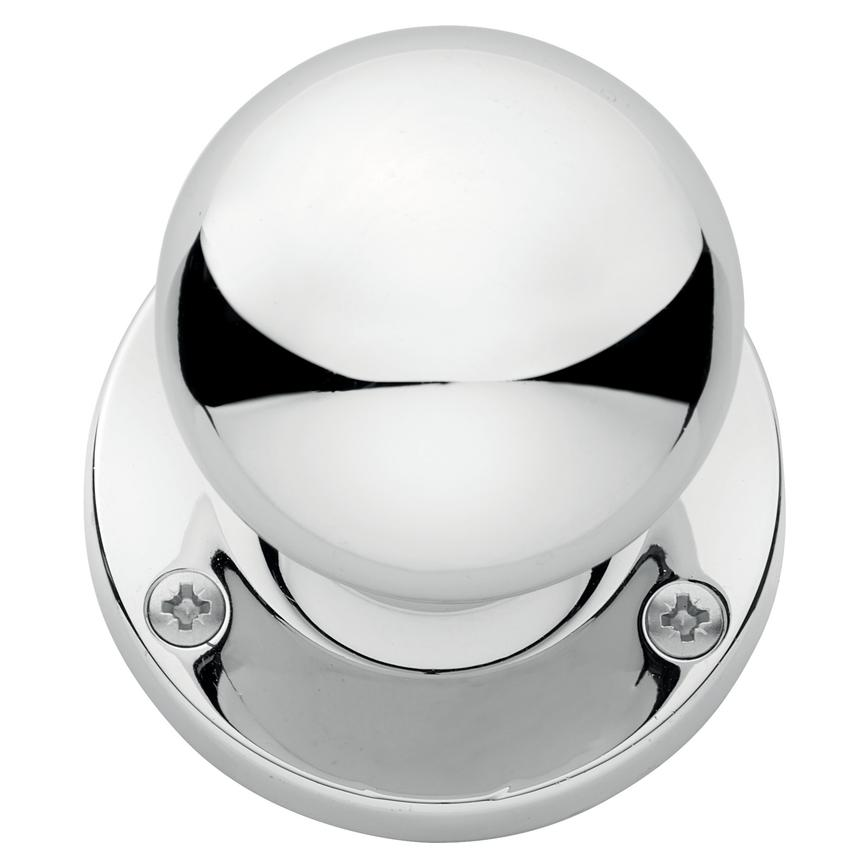 Chrome Mortice Knob