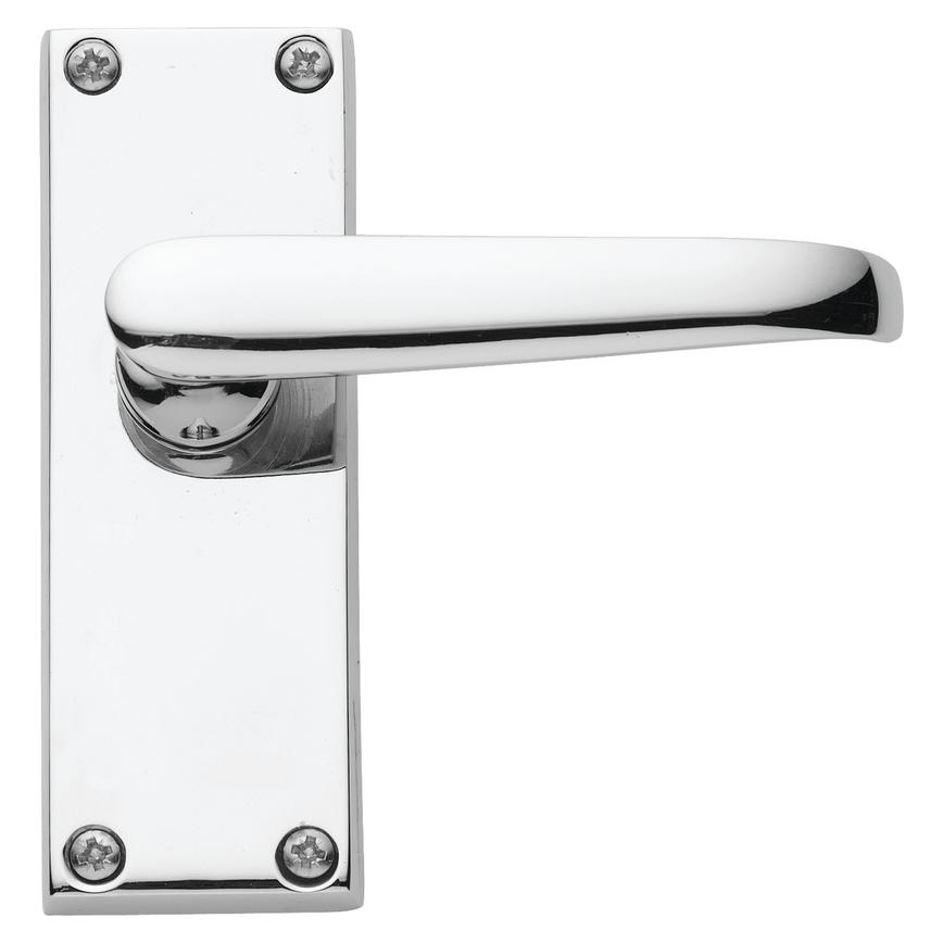 Victorian Chrome Latch Handle