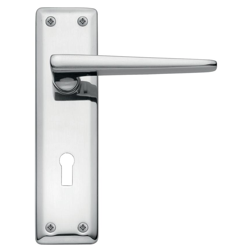 Lugano Chrome Lock Handle