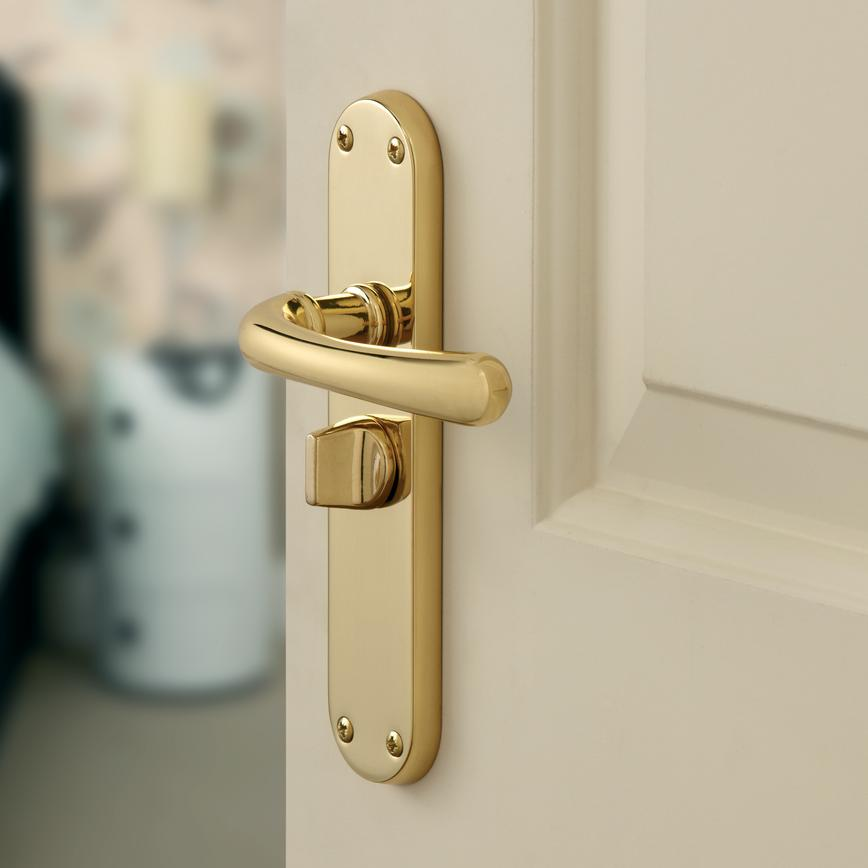 Idro Privacy Door Handle Howdens Joinery