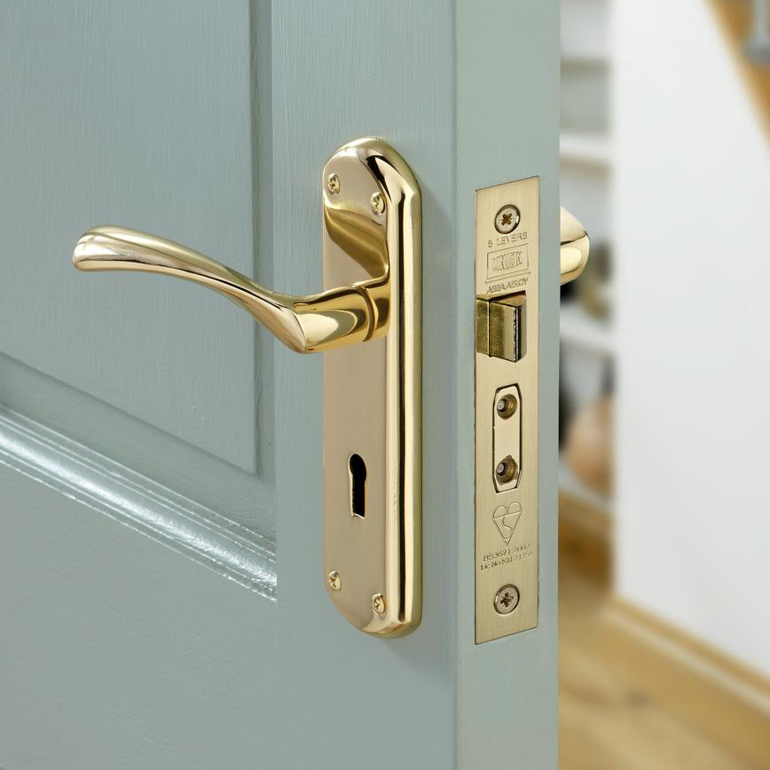 Garda Brass Lock Handle Pack
