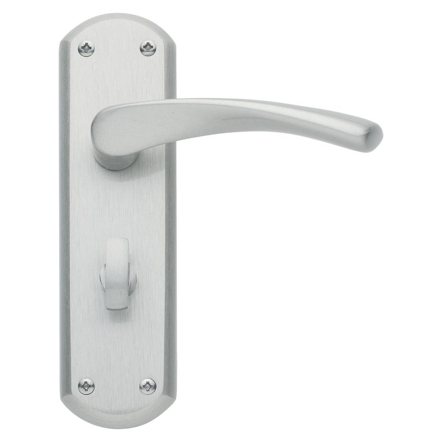 Garda Satin Nickel Bathroom Handle