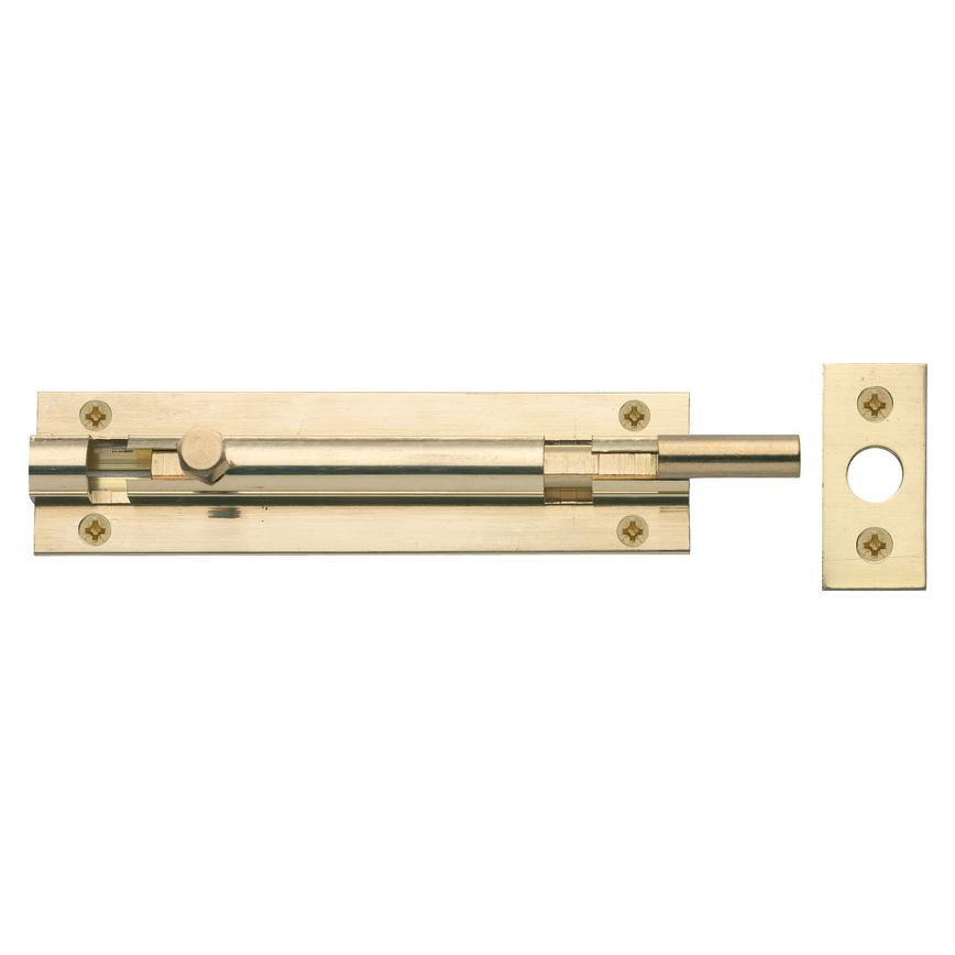 Brass Necked Barrel Bolt
