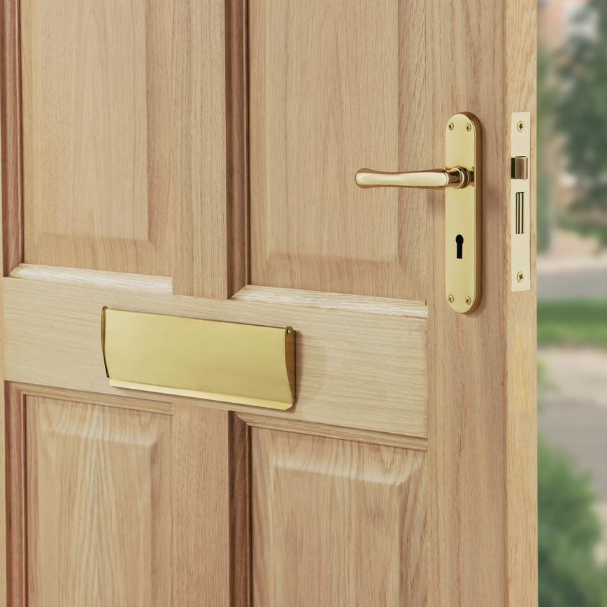 Brass Door Tidy