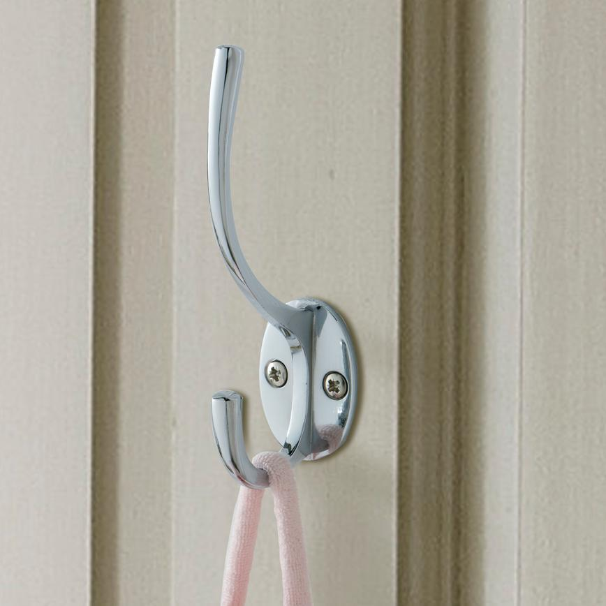 Chrome Coat Hook