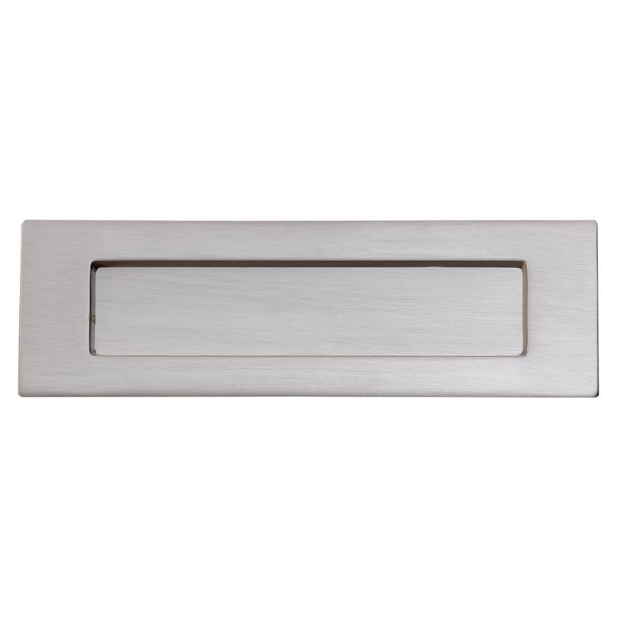 Satin Nickel Letterplate