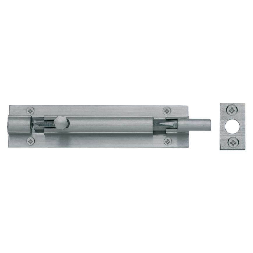 Satin Nickel Necked Barrel Bolt