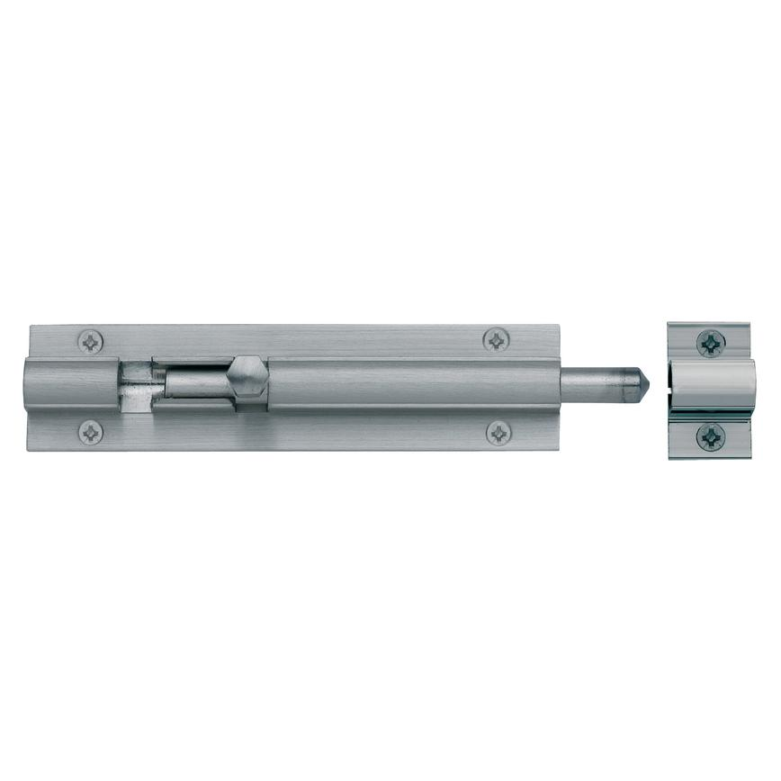 Satin Nickel Barrel Bolt