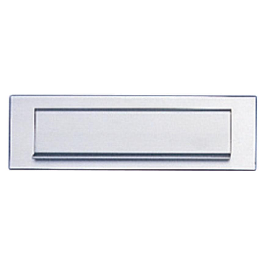 Aluminium Letterplate 10'' by 3''