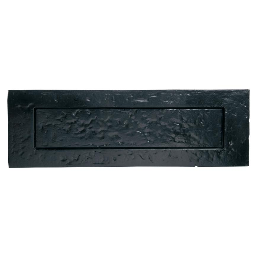 Antique Black Letterplate 10'' by 3