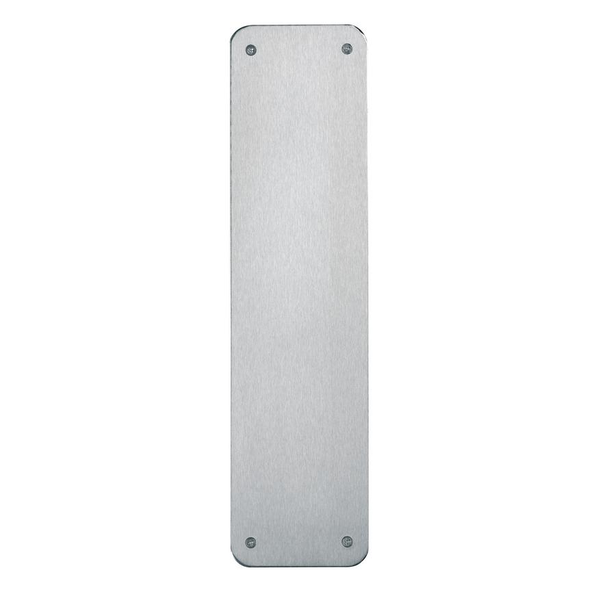 Stainless Steel Fingerplate 15'' by 3''
