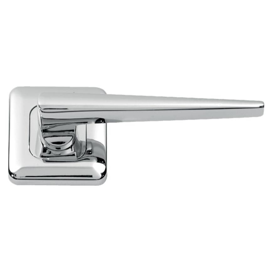 Lugano Chrome Rose Handle