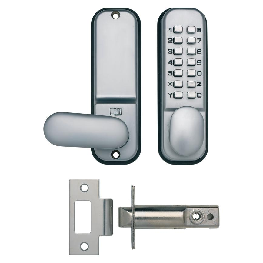 Briton Digital Door Lock Satin