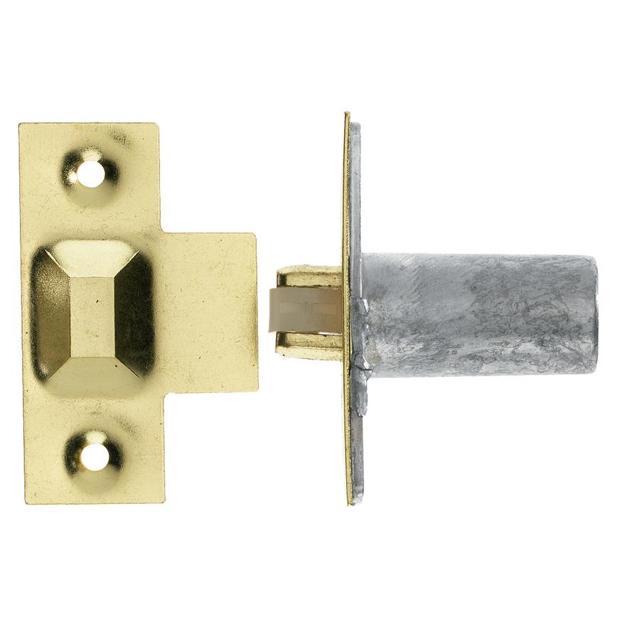 Plated 60mm Roller Cupboard Catch