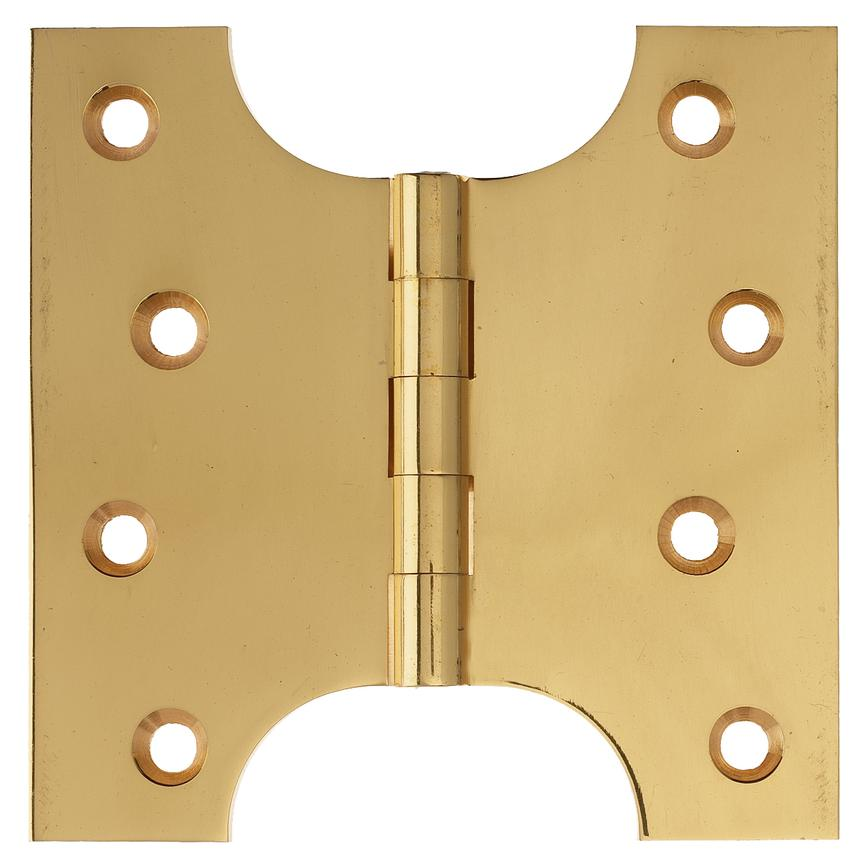 4'' PB Brass Parliament Hinges